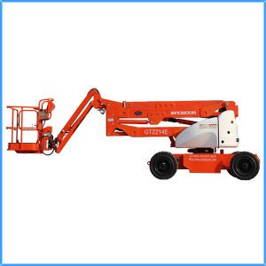 14m Electric Articulated Boom Lift (GTZZ14EJ)