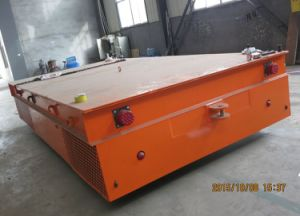 Battery Driven Trackless Transfer Trolley pictures & photos