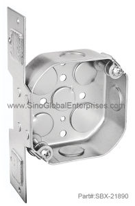 "4"" Octagon Ceiling Box (SBX-21890)"
