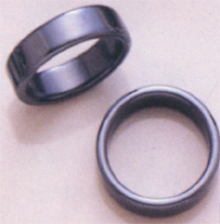 Magnetic/Hematite Flat Ring