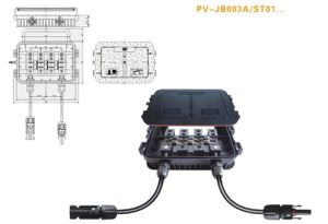 Solar Junction Box, PV Junction Box With TUV Certificate,Free Shipping