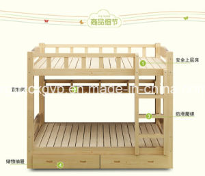 Cheap Kids Bedroom Wood Bed/High Quality Childrem Bedroom Double Wood Bed Cx-Wb121 pictures & photos