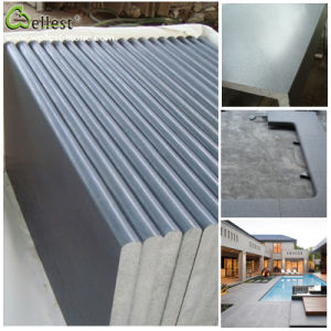 Hainan Grey Honed Basalt Tile for Swimming Pool pictures & photos
