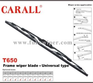 Auto Parts Frame Wiper Blade (T650) pictures & photos