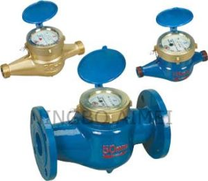 Rotary Vane Wheel Wet-Dial Water Meter (LXS-15E-50E) pictures & photos