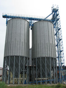 Hopper Bottom Steel Silos (TCZK Series)