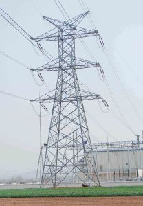 220kv Transmission Line Steel Tower for Power Transmission, Overseas Project pictures & photos