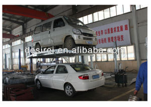 Hydraulic 1 Post Car Parking Lift with CE pictures & photos