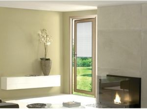 Beautiful Deisgn Entrance Aluminum Glass Door (pH-8830) pictures & photos