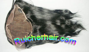 "Human Hair Lace Frontal Siwss Lace 13""*8"""