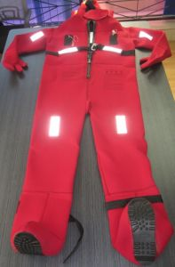 Buoyancy 150n Thermal Insulation Immersion Suit for Lifesaving pictures & photos