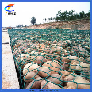 PVC Coated Gabion Baskets/Gabion Wire Mesh pictures & photos