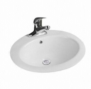 Above Counter Ceramic Washbasin, Above Mounting ceramic Basin pictures & photos