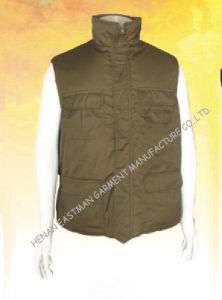 Army Green Warmer Workwear, Thermal Garment, Body Warmer Vest (EM905)