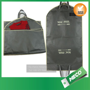 Carry Non Woven Garment Bags with Handle (MECO241) pictures & photos