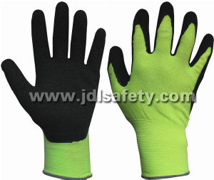 Breathable Work Glove with Latex Coated (LR3018) pictures & photos