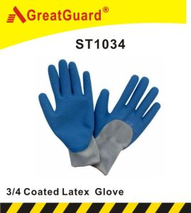 3/4 Glass Gripper Glove (ST1034) pictures & photos