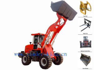 2t Small Front Loader for Construction Project
