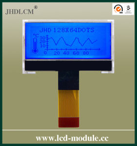 "2"" Blue Greeting Card LCD Module (JHD13264-G26BTB-G)"