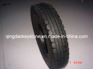 Tricycle Tyre, Three Wheeler Tyre 4.00-8, 135-10 High Duty pictures & photos