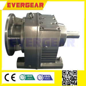 R Coaxial Helical Speed Reduction Gearbox (Ratio3.4-280.6) with IEC Input Flange pictures & photos