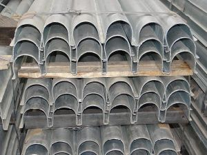 Galvanized Cable Protection Pipe Profile pictures & photos