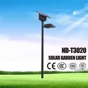 Style Grey Solar Powered LED Outdoor Garden Light pictures & photos