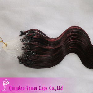 Micro Loop Ring Remy Human Hair Extensions (YM-W-032)