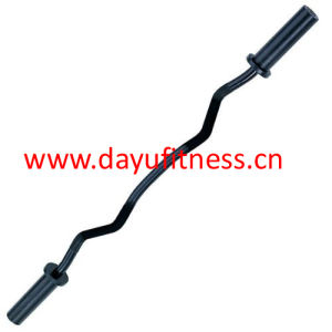 "Black Olympic Curl Bar 47"" (BR-009B)"