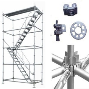 High-Rise Building Used Ring Lock Scaffolding System pictures & photos
