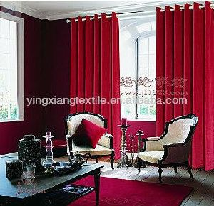 Polyester Velvet Fabric for Curtain