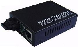 Dual Fiber Gigabit Media Converter