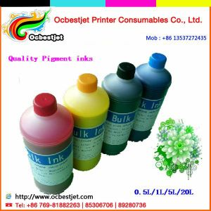 (Never Clog Printhead) Water Based Pigment Ink for Epson Stylus PRO 7450 9450 Inkjet Printers -4 Colors