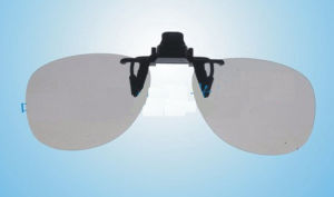 Clip on 3D Glasses Style #A54 pictures & photos