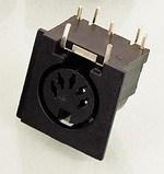 Mini DIN Socket (DIN 41524)