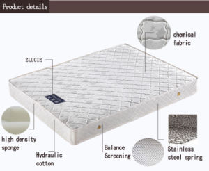 Top Sale Spring Mattress Bedroom furniture Mattresses pictures & photos
