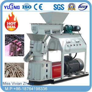 Small Wood/Feed/Fertilizer/Flat-Die Pellet Mill Machine (SKJ-280) pictures & photos