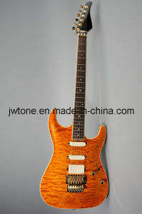 Quilted Maple Arched Body Top Electric Guitar pictures & photos