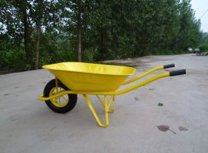 France Model Steel Tray Wheelbarrow (WB6400) pictures & photos