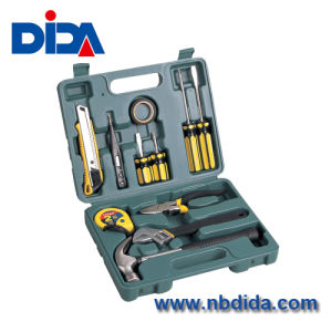 12PCS Household Hand Tools Set With Blowing Mould Case (DIDA0P015)