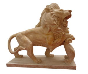 Marble Lion, Stone Carving Lion Sculpture (8590) pictures & photos