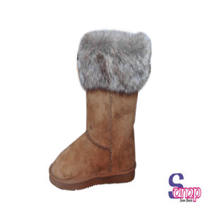 Suede Boots for Lady Snow Boots