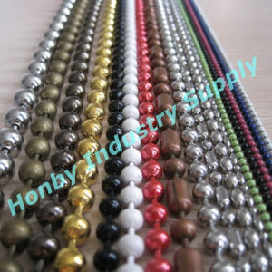Honby 100% Round Vary Color Metal Bead Ball Chain pictures & photos