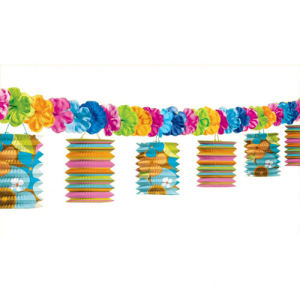 Paper Lantern Garland for Decoration
