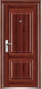 PVC Surface Steel Door (YF-SP31) pictures & photos