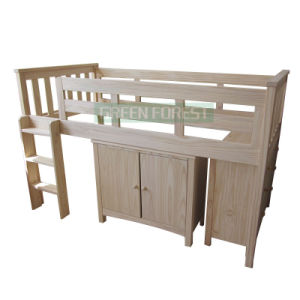 Bunk Children Wooden Bed