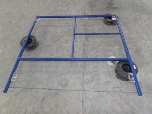 Frame System Scaffold with Powder Coated Surface pictures & photos