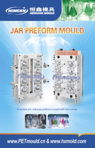 Jar Wide Mouth Container Preform Mold pictures & photos