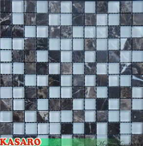Border Mosaic Decoration Bathroom Wall Tile (KSL-131058)