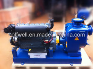 T-4 Self-priming Centrifugal Sewage Water Pump pictures & photos